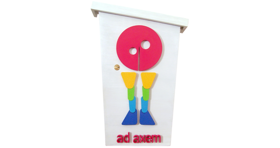 Ad Axem Sign and Mailbox (Image 4 of 4)
