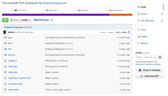 mainframe php